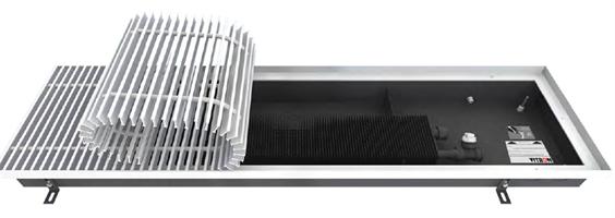 Конвекторы встраиваемые в пол Vitron с вентилятором