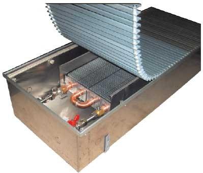 Конвекторы EVA встраиваемые в пол без вентелятора