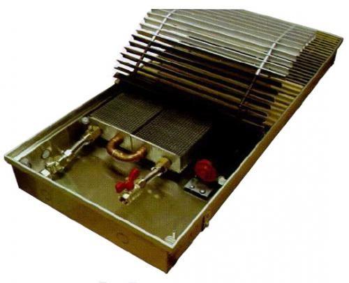 Встраиваемые в пол конвекторы  EVA с тангенциальным вентилятором