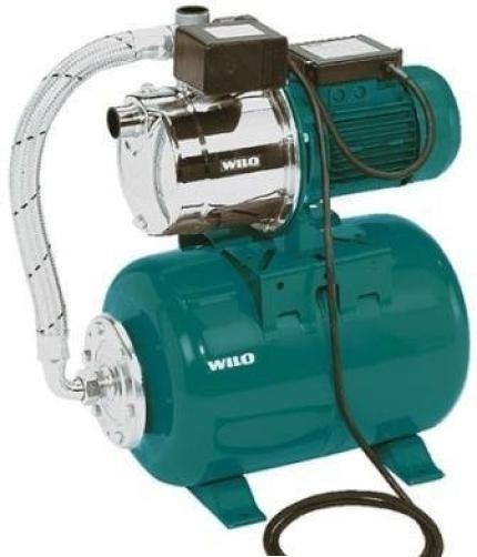 Установки для водоснабжения Wilo HWJ с мембранным баком