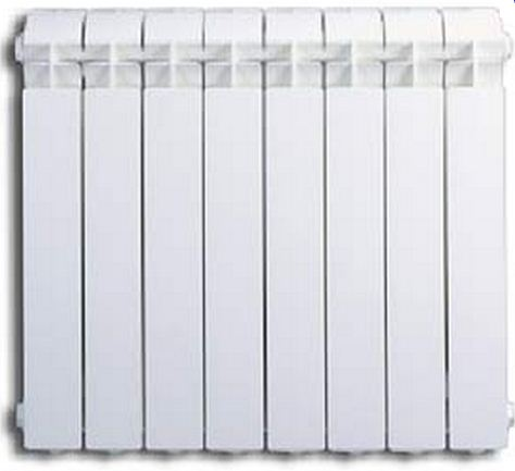 Алюминиевые секционные радиаторы Global Vox высотой 500