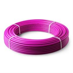 Труба из сшитого полиэтилена PE-RT SDR 7,4 25х3,5 фиолетовая - фото 2773