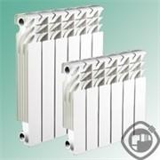 Алюминиевый радиатор Radena R-500/100, 1 секция